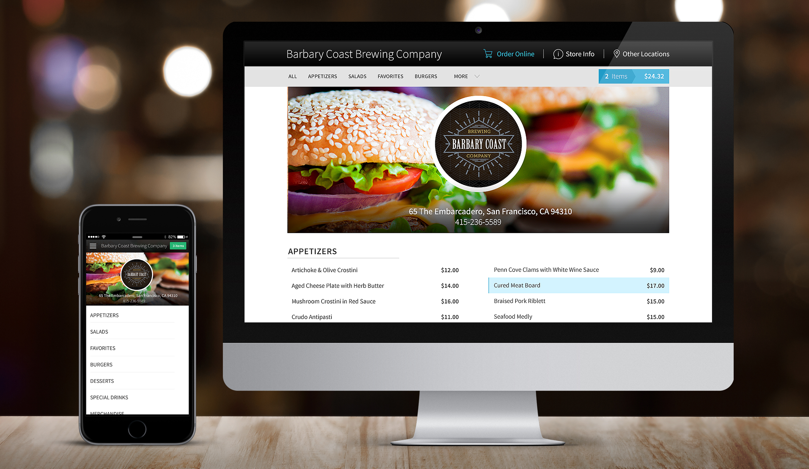 point of sale system for QSRs