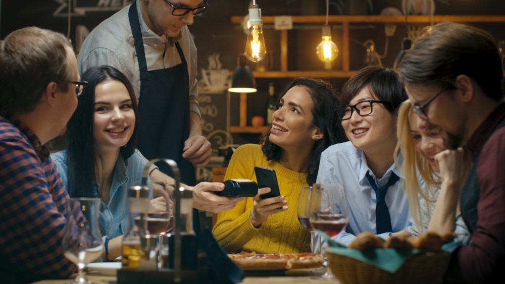 A pay at table device provides convenience to your customers.