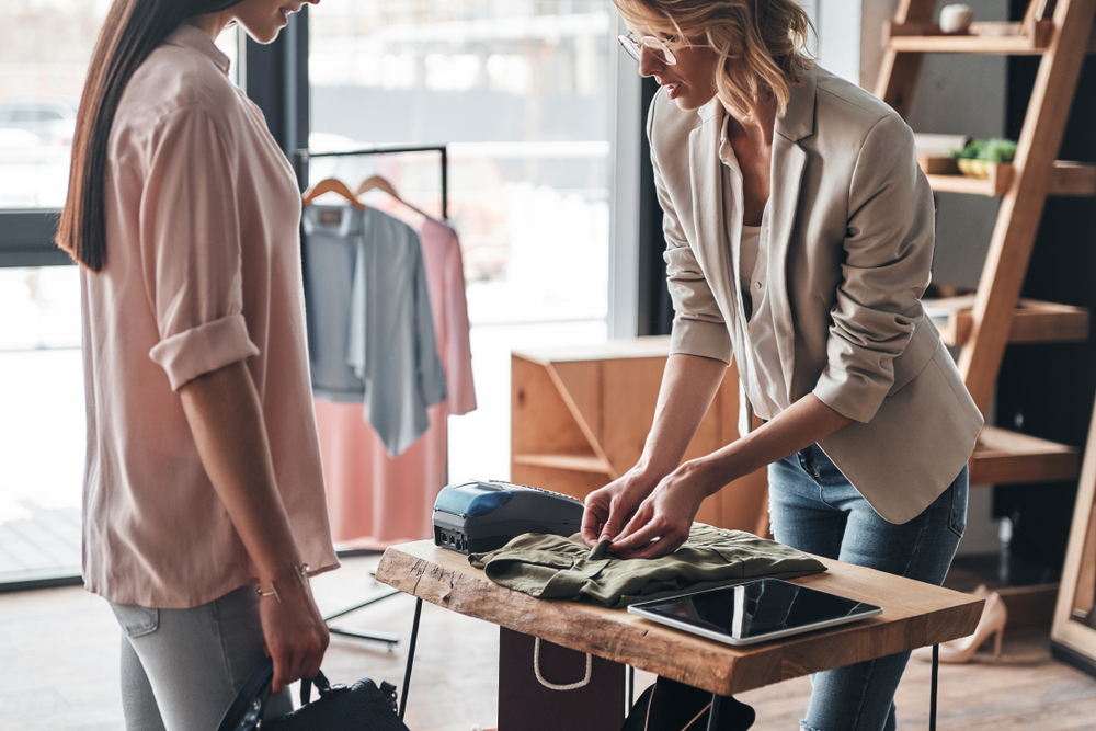 Boutique point of sale systems make it easier to help customers.