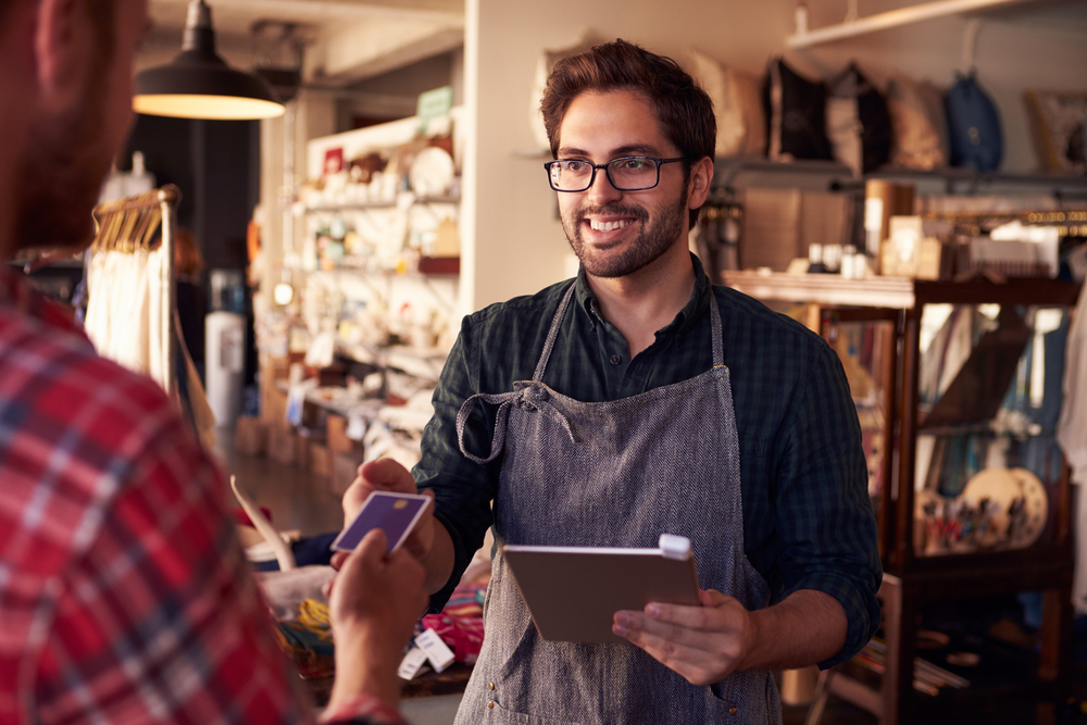 Growing a small retail business requires time and effort.