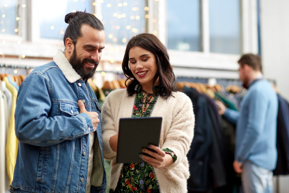 A clothing store point of sale can simplify everything from promotions to inventory