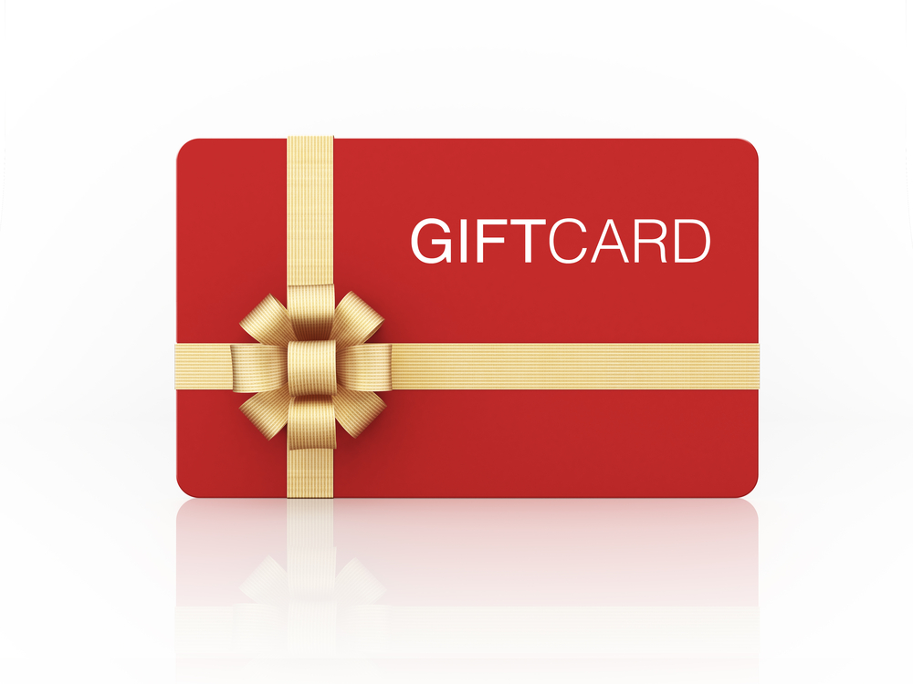 POS gift card system