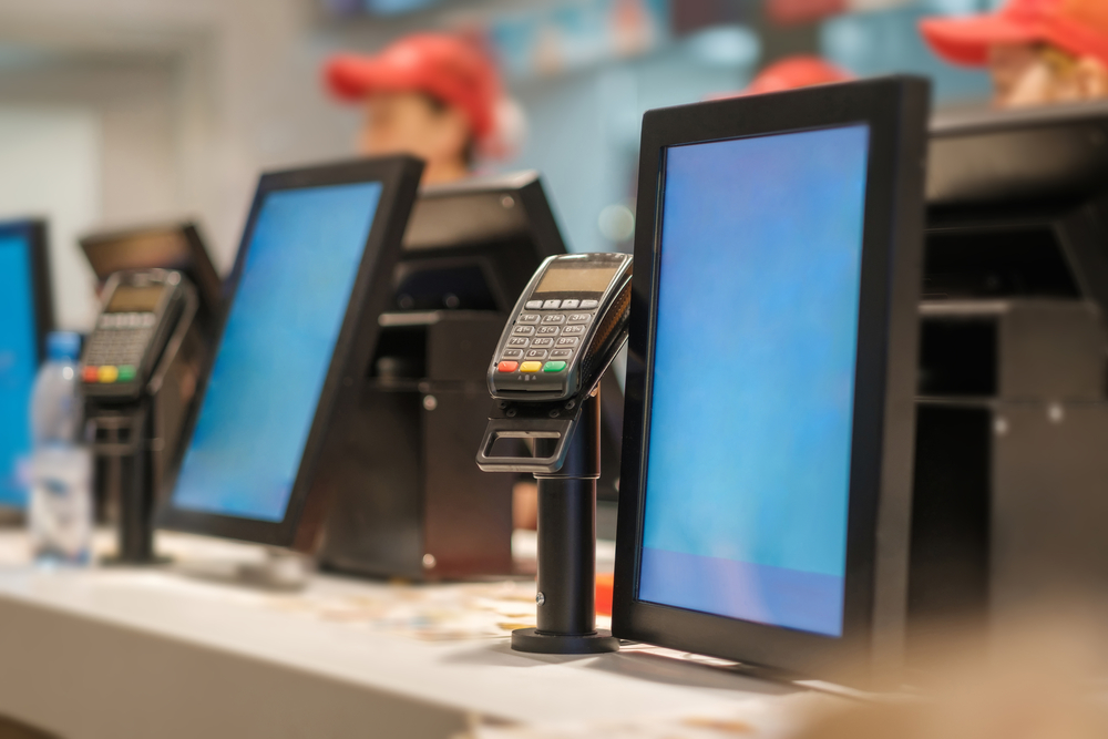 A point of sale for fast food restaurants should be both simple and flexible