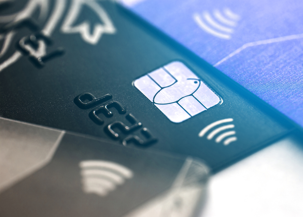 credit card with contactless capabilities symbol