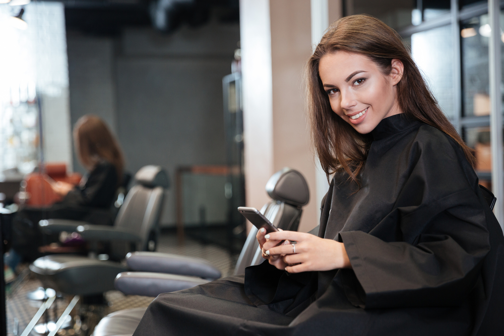 mpos system used for payment in salon