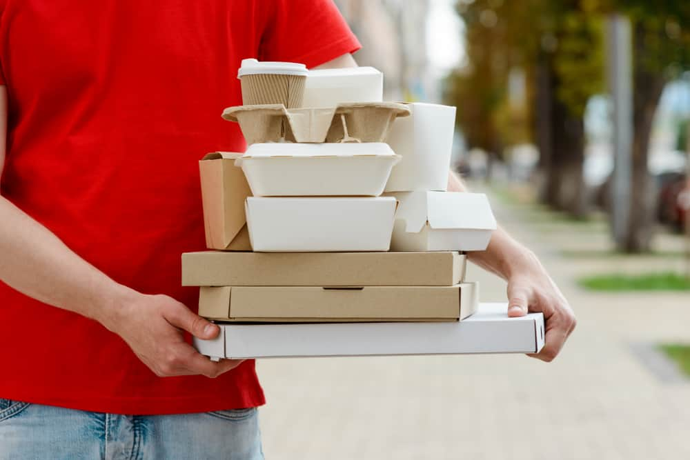 third-party food delivery service