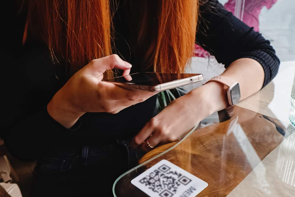QR code point of sale system