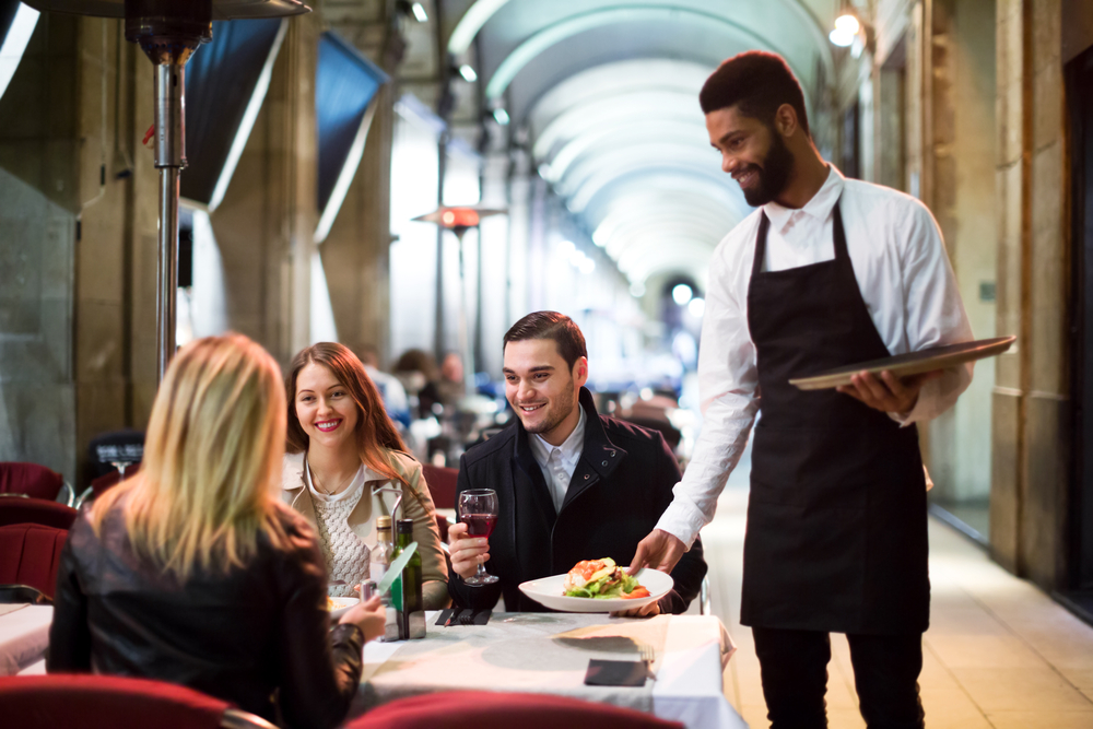 Improve restaurant service quality to see positive returns..