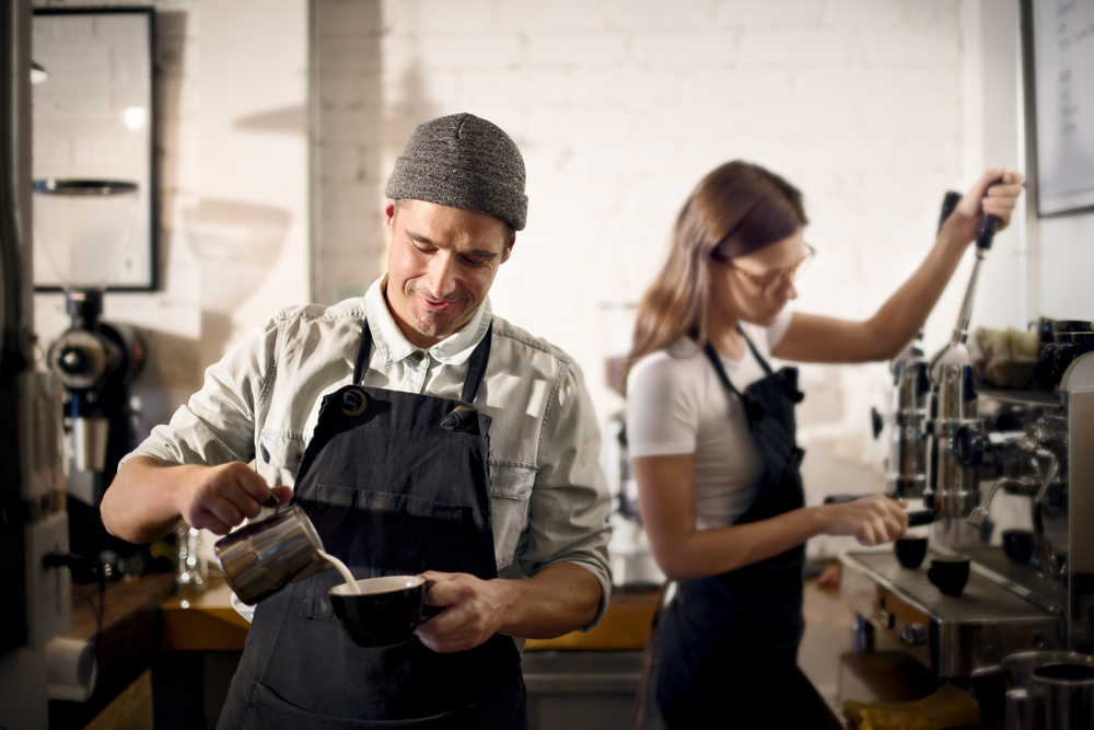 Running a successful coffeeshop takes foresight and perseverance
